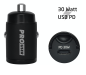 Pro User MINI USB-C Car Charger 30W